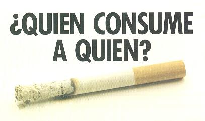 El fumar los tipos la dependencia