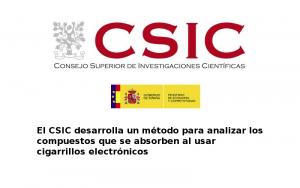 Estudio del CSIC (España) afirma que LOS CIGARRILLOS ELECTRÓNICOS NO CONTIENEN SUSTANCIAS NOCIVAS más allá de la nicotina
